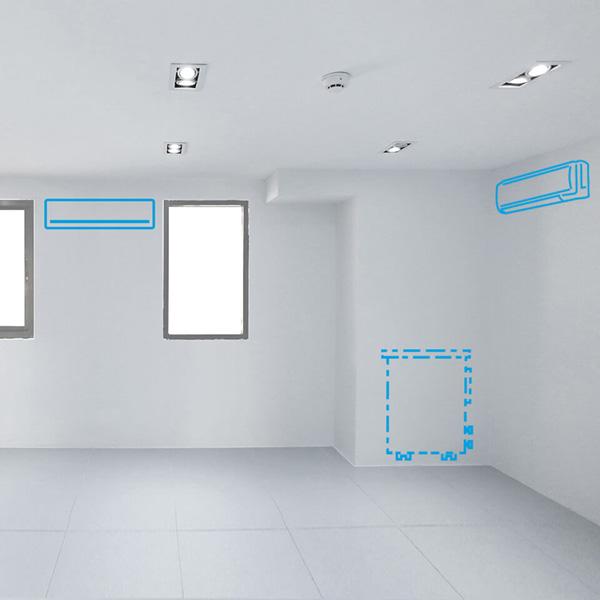 Condizionatori senza unità esterna per ambienti ampi o di più stanze