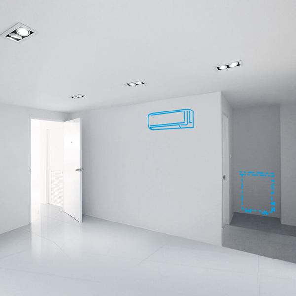 Condizionatori senza unità esterna Hiddenco per singole stanze o piccoli ambienti